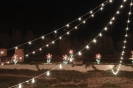 fairy lights in country location for wedding in tuscany