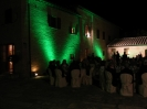 LED lighting for rent in tuscany - castello di leonina - Giulia e Carlo