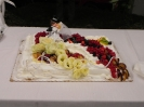 4th September  - Donna e Loren - wedding in Poppi - the cake