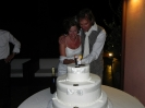 3 September - Vera & Erik Wedding party cutting cake