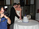 James & Laura - villa di maiano - cutting kake