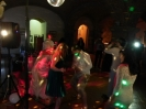 English Wedding party in Castagno Gambassi Terme - light and music rental